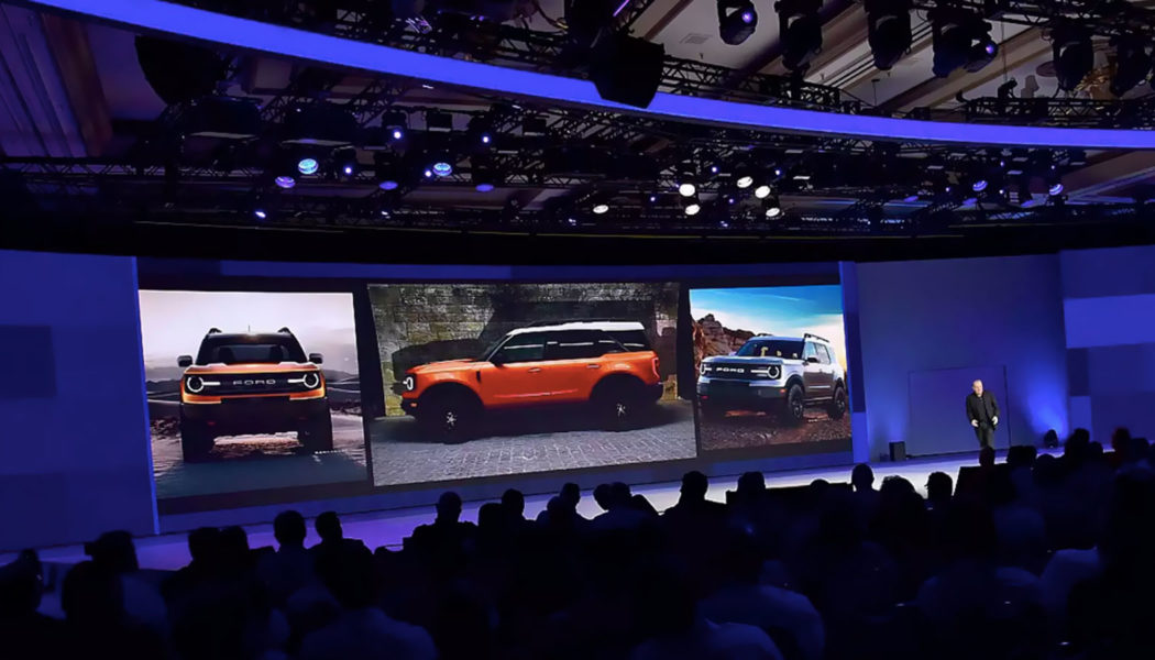2020 Bronco Shown at National Dealer Meeting