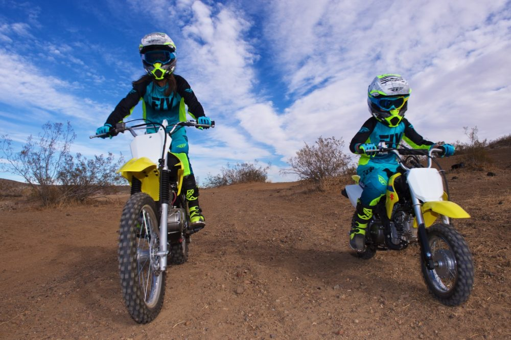 Grrl Power:  Moms, Daughters, and Dirtbikes