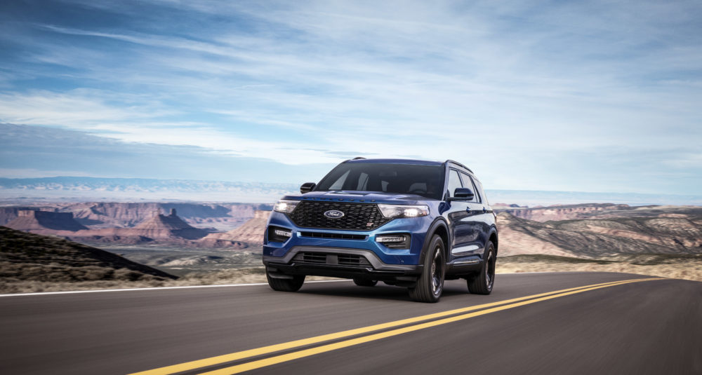 2020 Ford Explorer Gets ST, Hybrid Variants