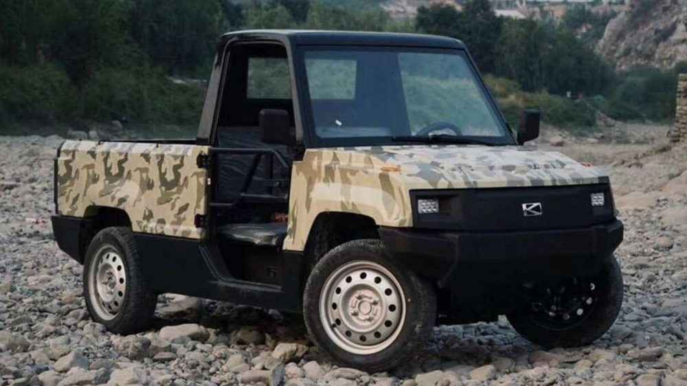 Pickman Half Ton Electric Truck to Sell for $5700
