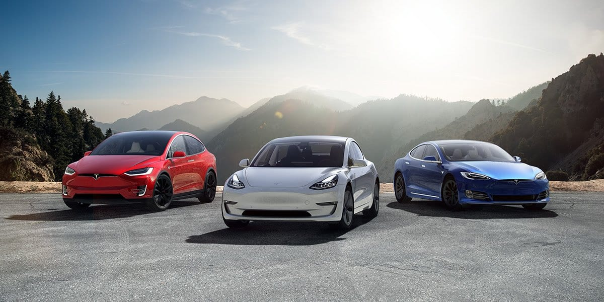 Tesla Changes its Trim Levels, Model Names