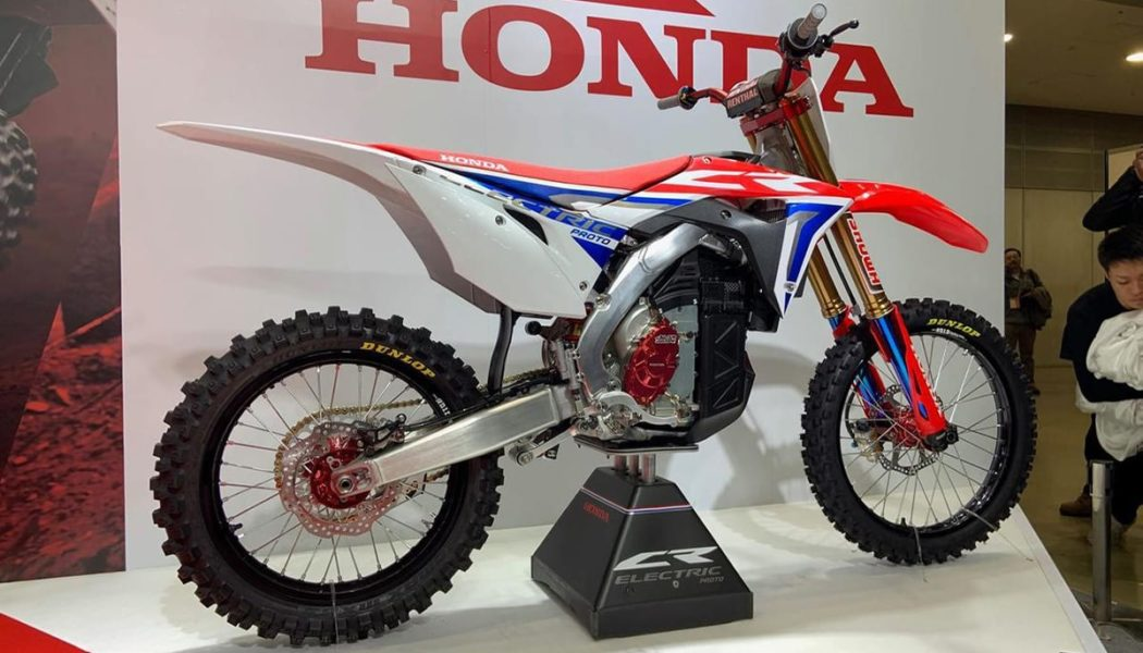 Honda Reveals Electric CRF Concept (10 Photos)