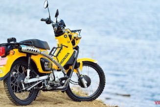 Go Fish!  Honda Cross Cub Kai-Ruamaga is Ready for Action