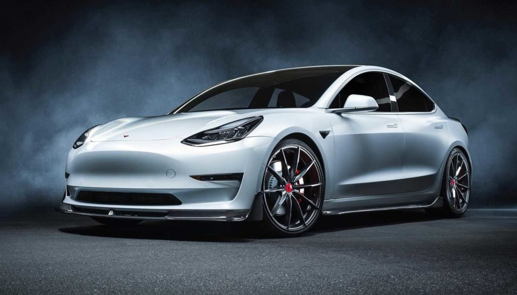 Vorsteiner Joins the Ranks of Tesla Tuners