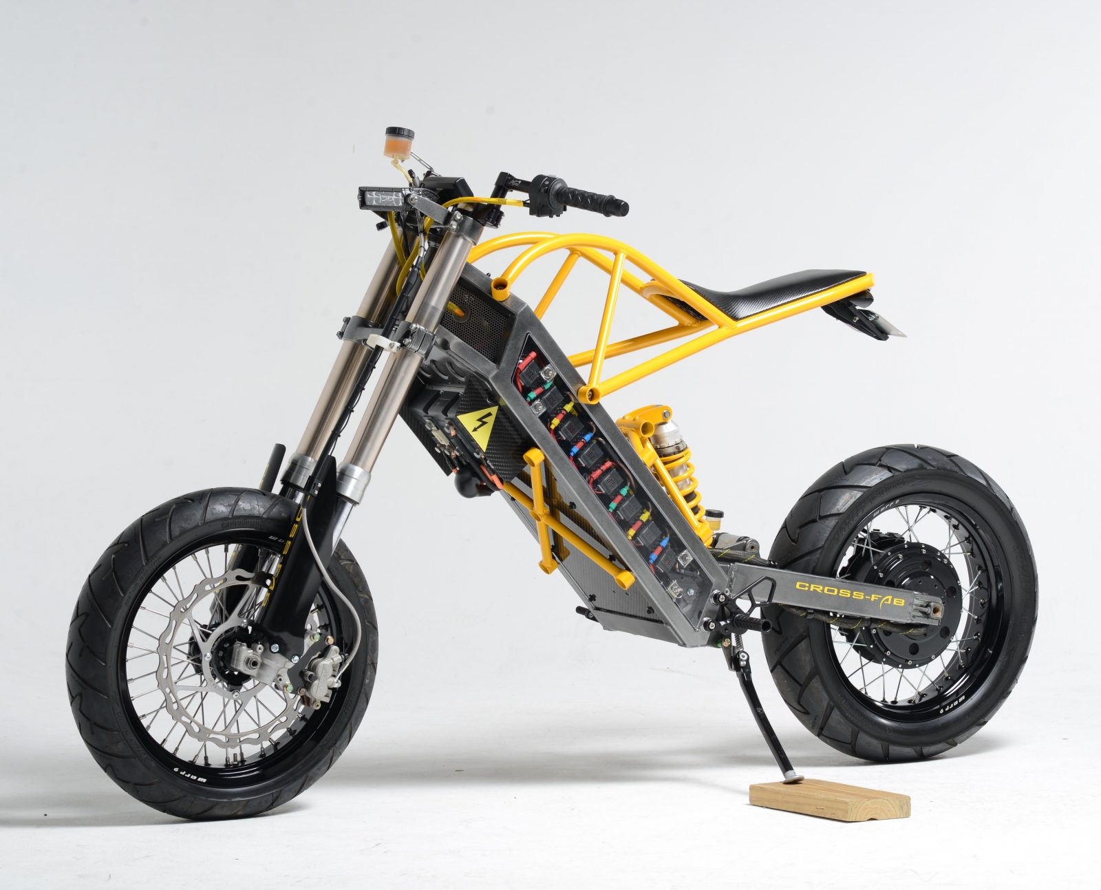 Wow! ExoDyne Electric Motorcycle is a Singular Vision