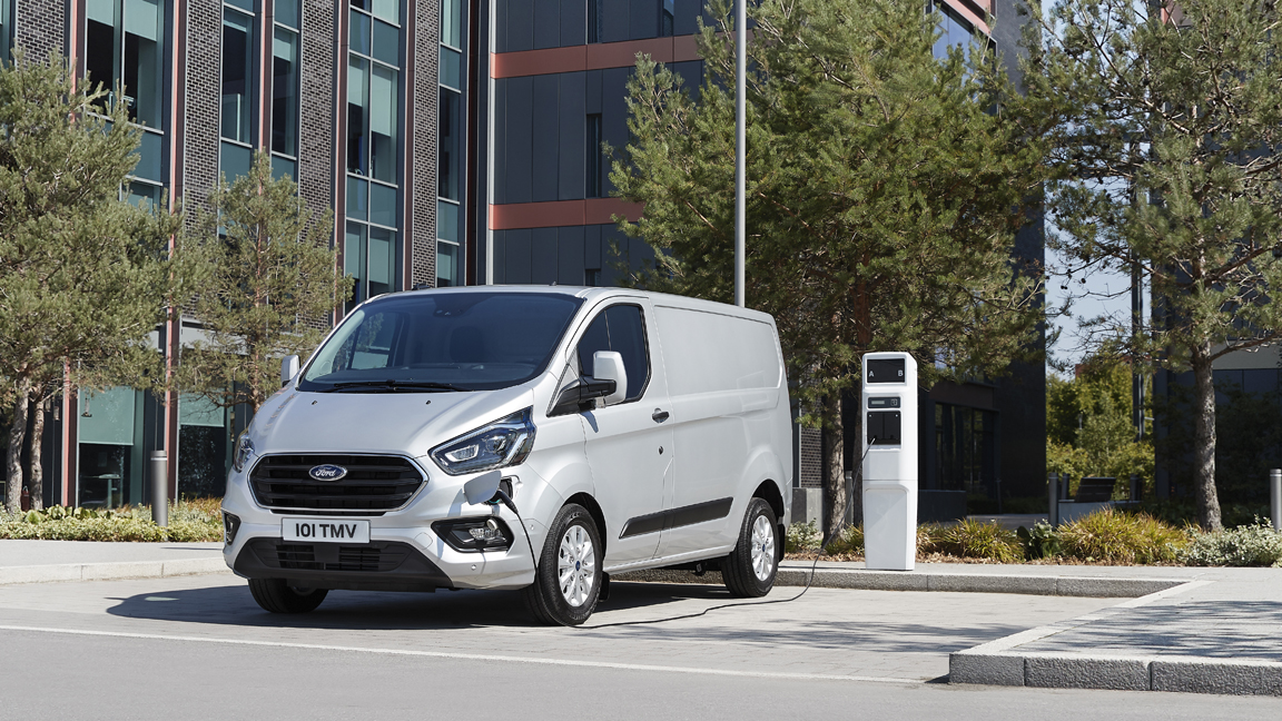 Ford Transit Hybrid Van a Practical Solution for Cleaner Cities