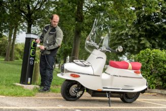 Czech it Out: Classic Čezeta Reborn as an Electric Scooter!
