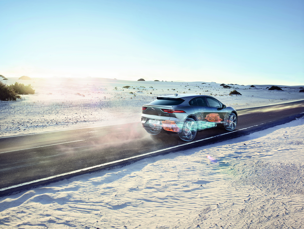 Jaguar's First All-Electric Vehicle: Meet the I-Pace