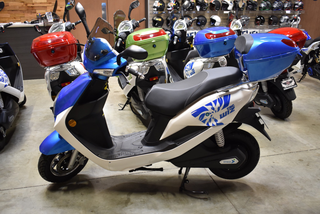 Meet the Wiz: CSC's Newest Electric Scooter