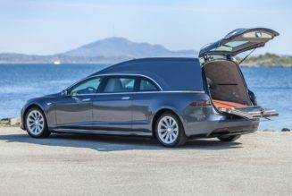 $200,000 Tesla Hearse for a Clean and Quiet Last Ride