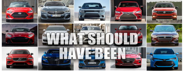 5 New Cars that Really SHOULD Have Been Electric 2019