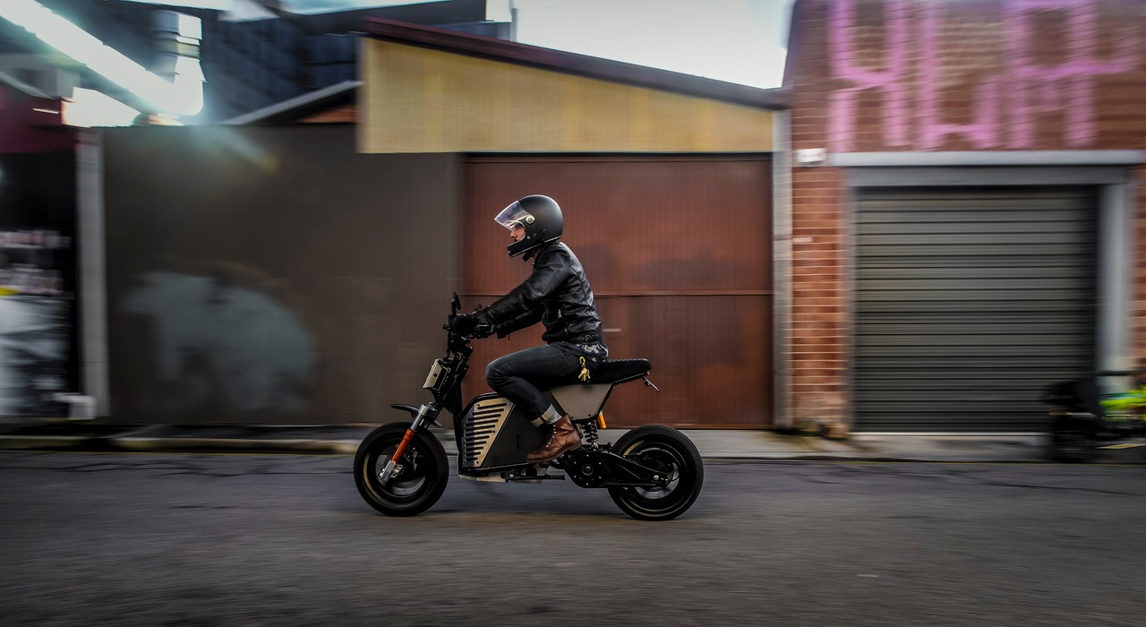Fonzarelli NKD - Electric Motorcycle from Down Under