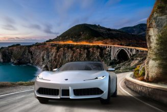 Karma GT Coupe Concept by Pininfarina Headed Stateside